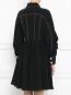 Платье с контрастной отделкой Sportmax  –  Модель Верх-Низ1