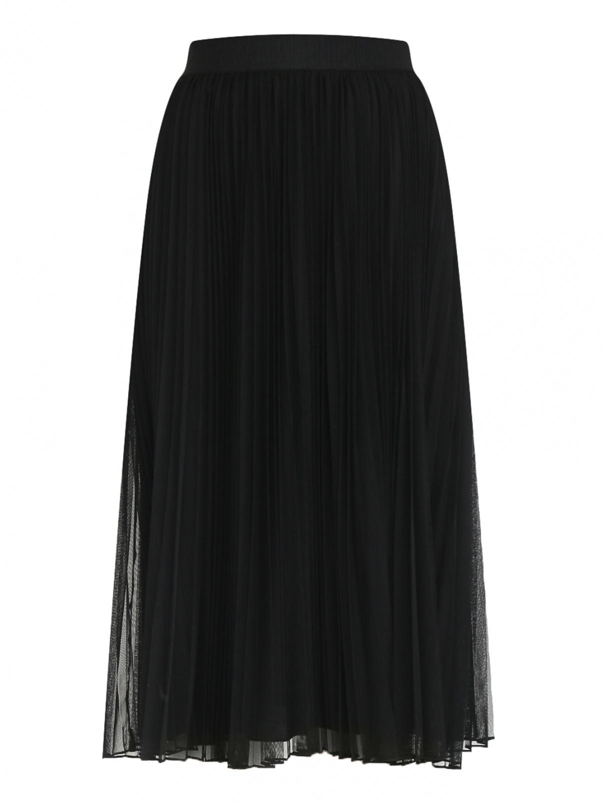 Плиссированная юбка на резинке Weekend Max Mara  –  Общий вид