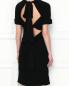 Платье-миди с драпировкой N21  –  МодельВерхНиз1