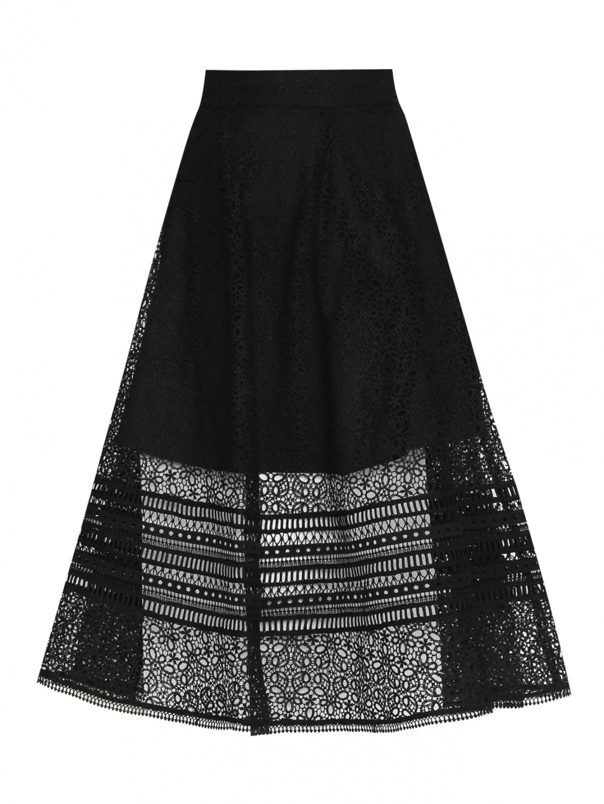 Юбка-миди с вышивкой Max&Co  –  Общий вид