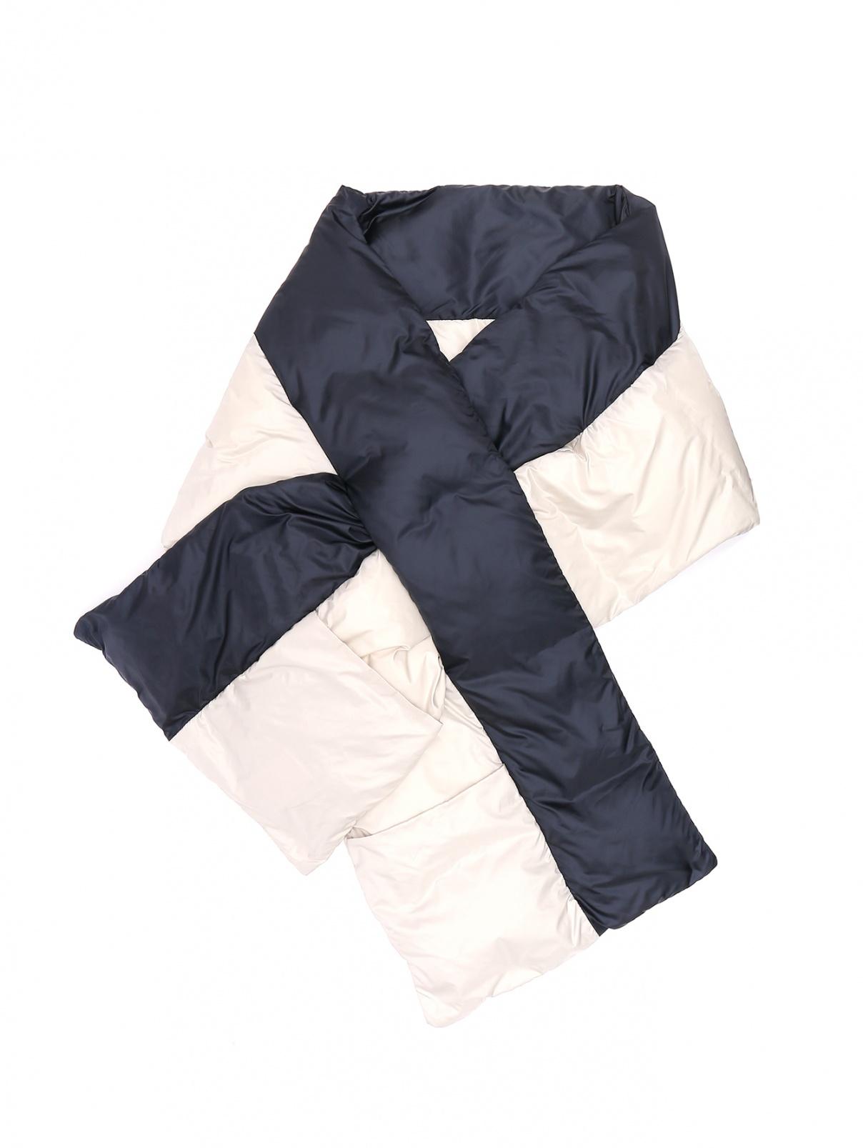Комбинированный шарф Max Mara  –  Общий вид