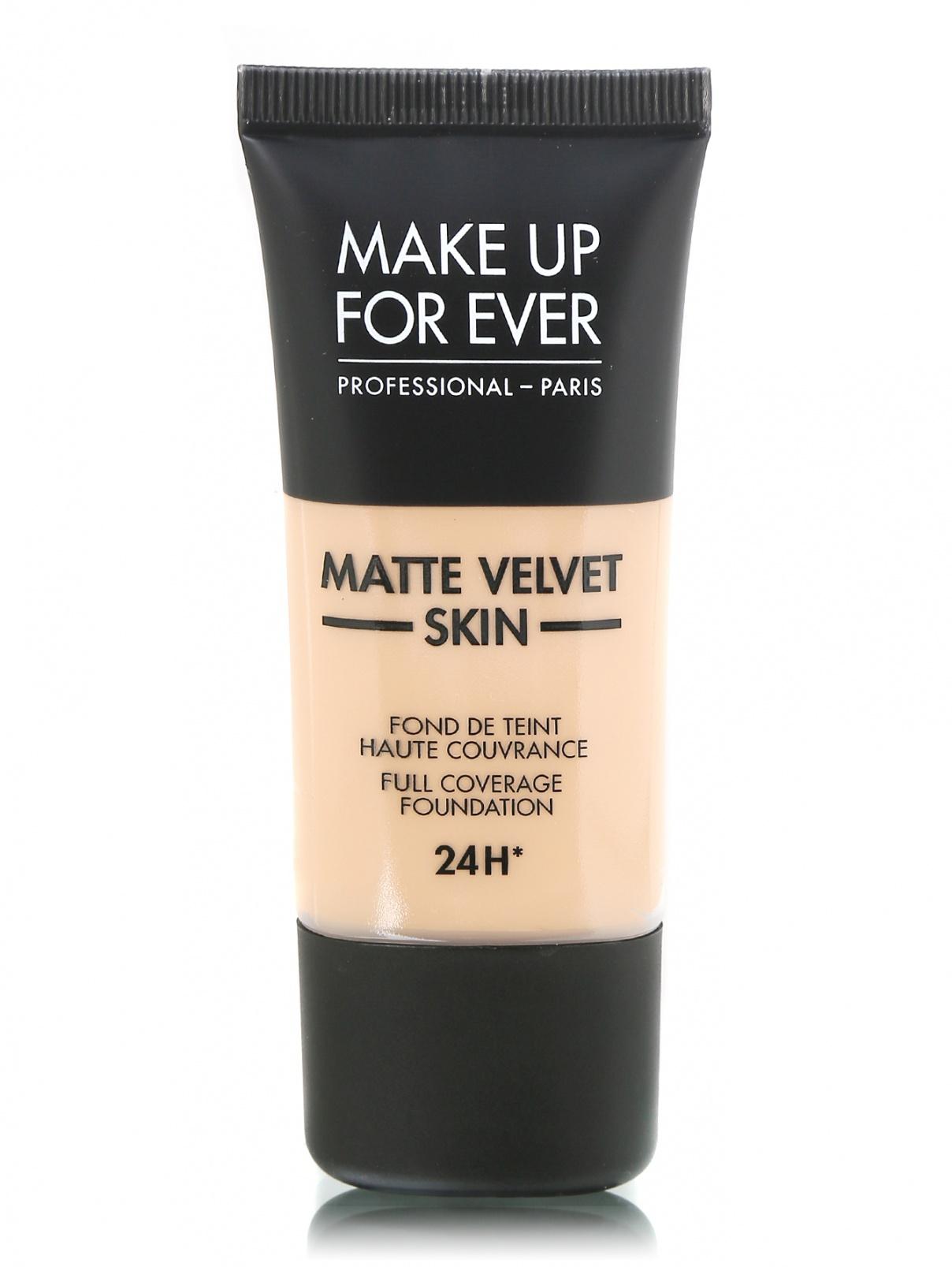 Тональное средство 30 мл Y415 Matte Velvet MAKE UP FOR EVER  –  Общий вид