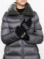 Перчатки трикотажные из шерсти Moncler  –  МодельОбщийВид