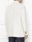 Пиджак однобортный из хлопка и льна Etro  –  МодельВерхНиз1