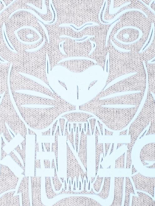 Джемпер из хлопка с принтом Kenzo - Деталь1