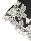 Халат из шелка с кружевной аппликацией La Perla  –  Деталь