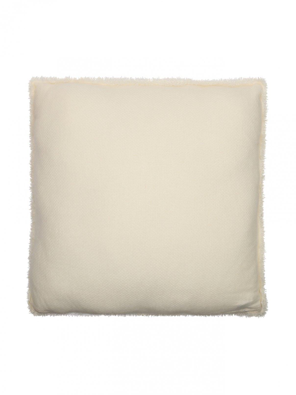 Подушка из кашемира с бахромой 60 x 60 Agnona  –  Общий вид