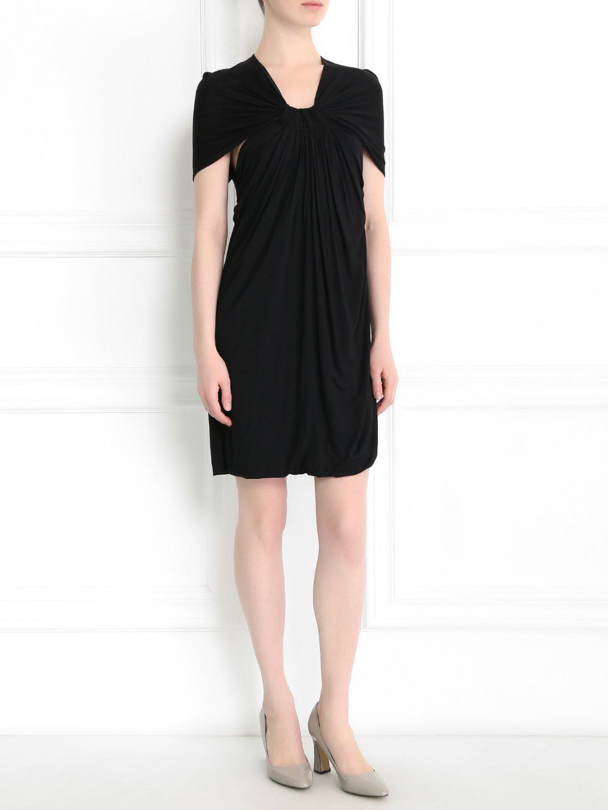 Трикотажное платье с вырезом на спине Cut 25  –  Модель Общий вид
