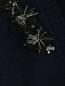 Кардиган из смесовой шерсти с декоративной отделкой Tara Jarmon  –  Деталь