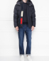 Куртка пуховая с капюшоном Moncler  –  МодельОбщийВид