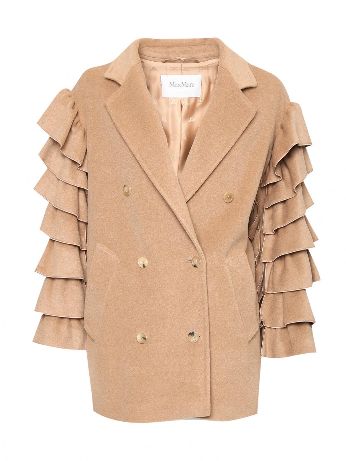 Пальто из шерсти Max Mara  –  Общий вид