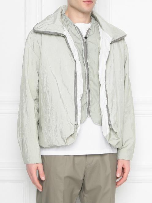 Куртка на молнии с подкладом Jil Sander - МодельВерхНиз