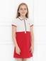 Платье спортивное из хлопка Moncler  –  МодельВерхНиз