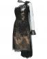 Платье из сетки и кружева со шлейфом Ermanno Scervino  –  Общий вид