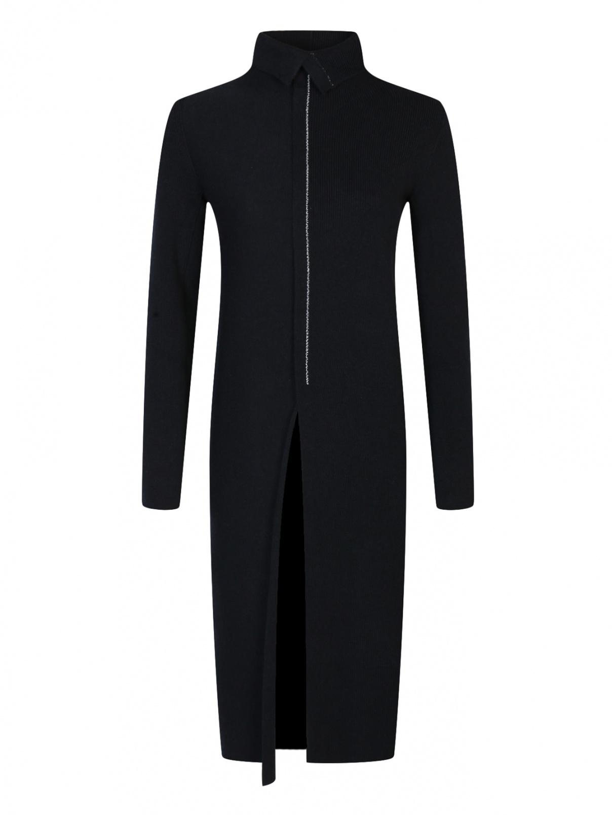 Трикотажное платье из шерсти Jil Sander  –  Общий вид
