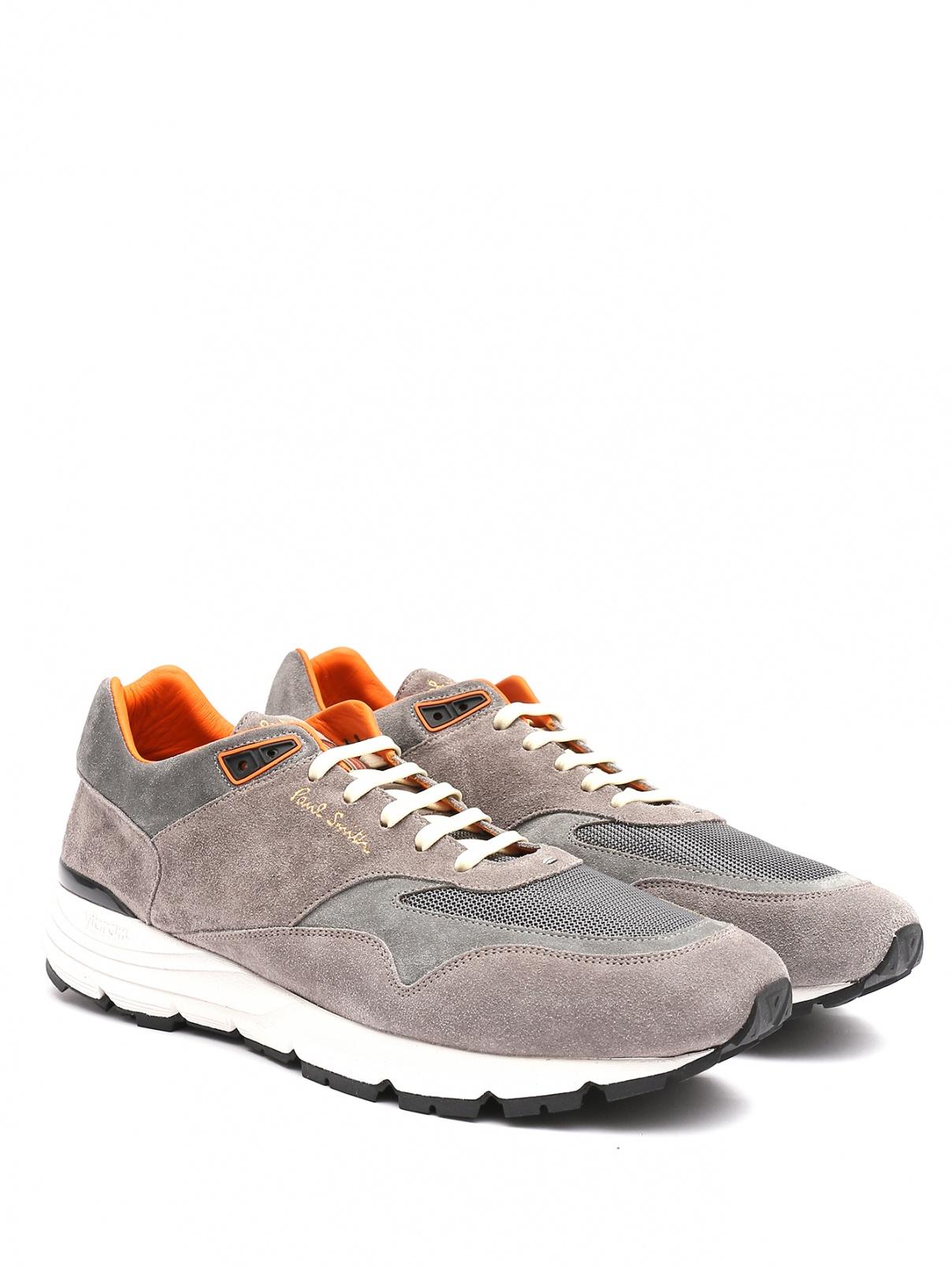 Кроссовки из кожи на шнурках Paul Smith  –  Общий вид