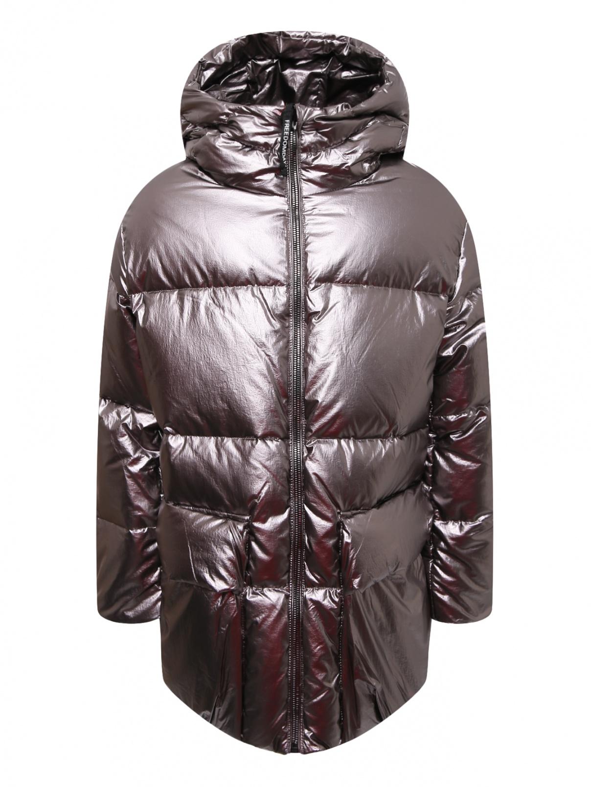 Куртка стеганая с накладными карманами Freedomday  –  Общий вид