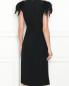 Платье-миди декорированное перьями Alberta Ferretti  –  МодельВерхНиз1