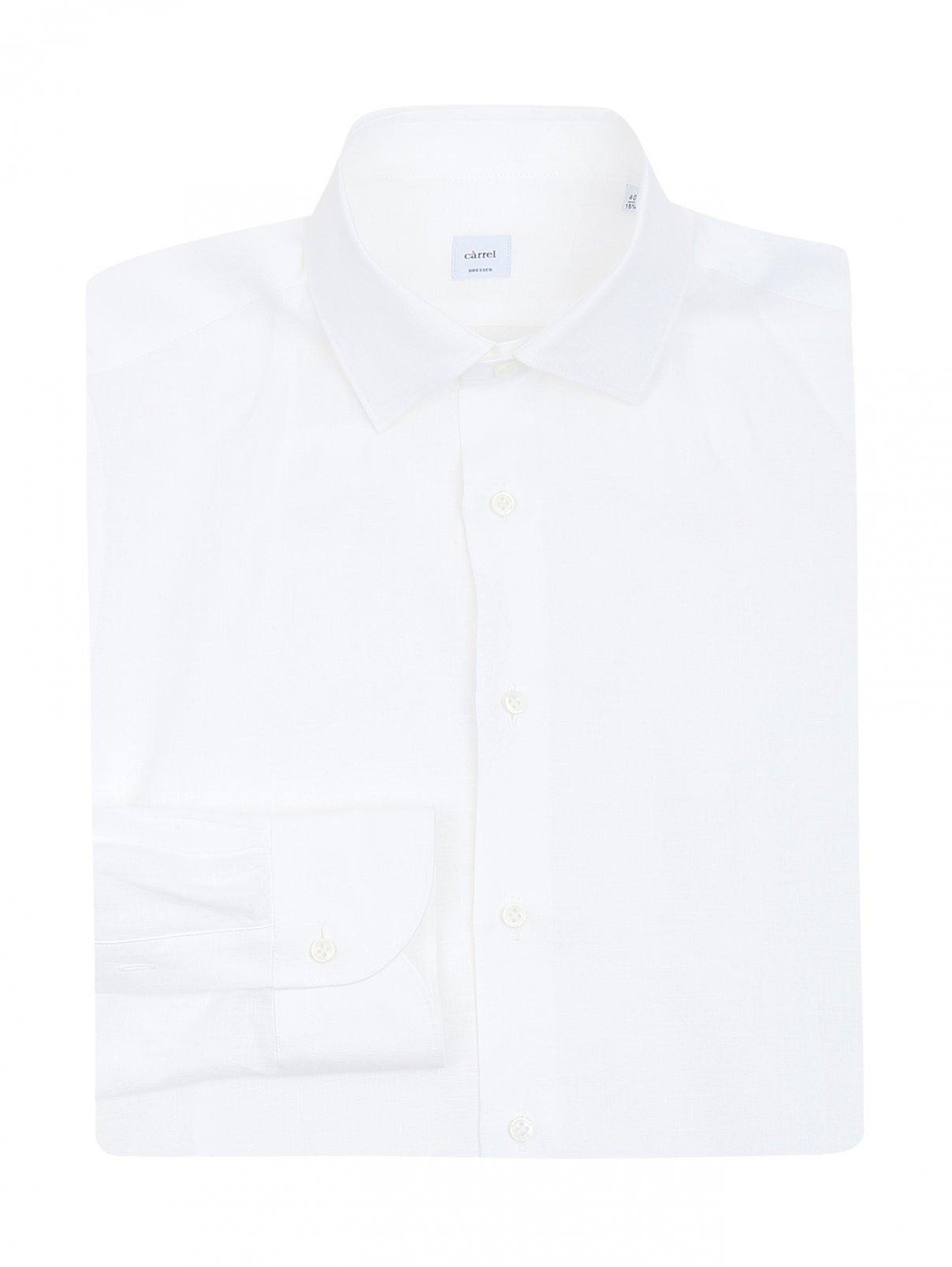 Рубашка из льна Carrel  –  Общий вид