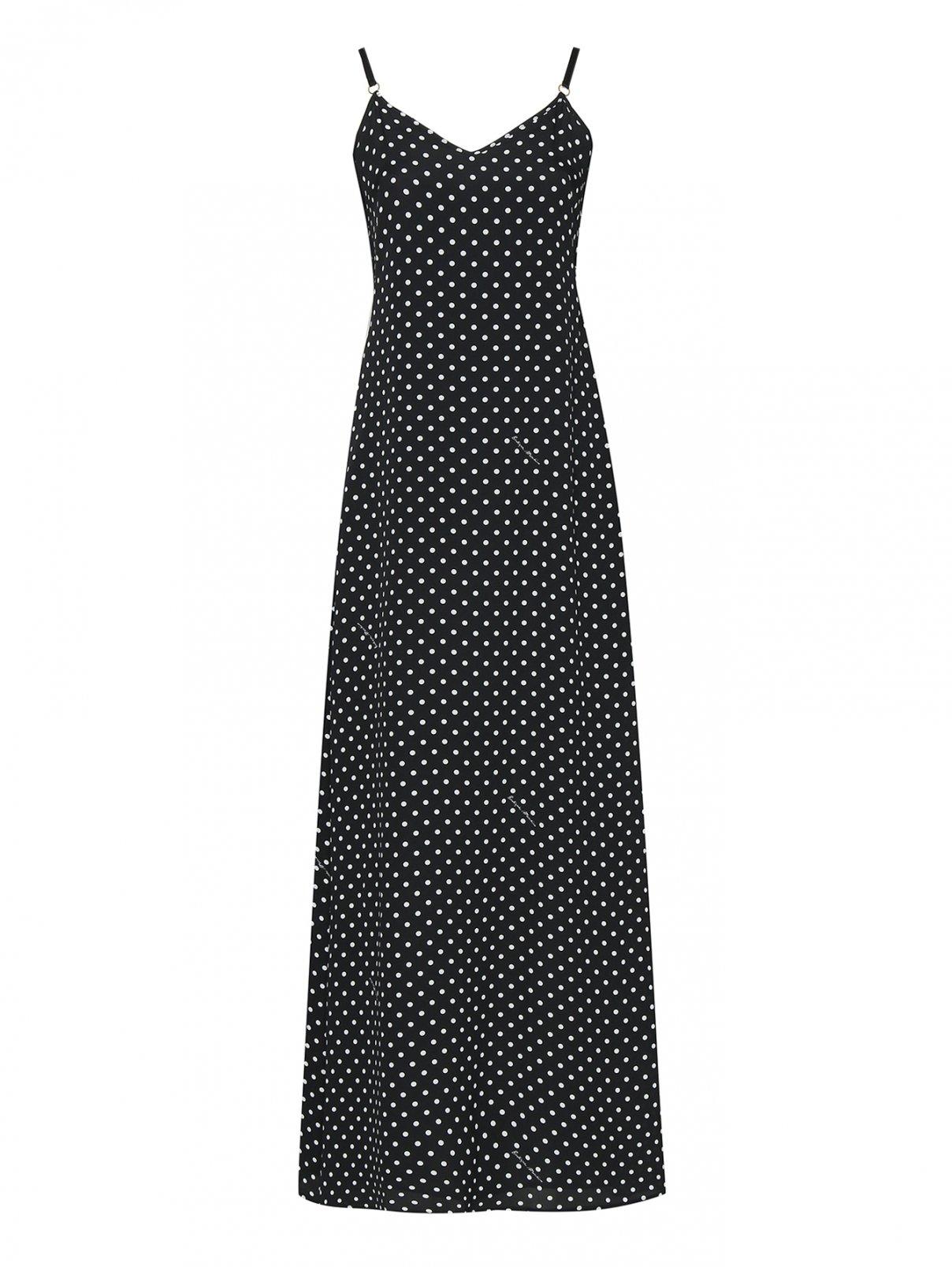 Платье в горох на бретелях Moschino Boutique  –  Общий вид