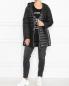 Стеганая куртка на молнии Marina Rinaldi  –  МодельОбщийВид