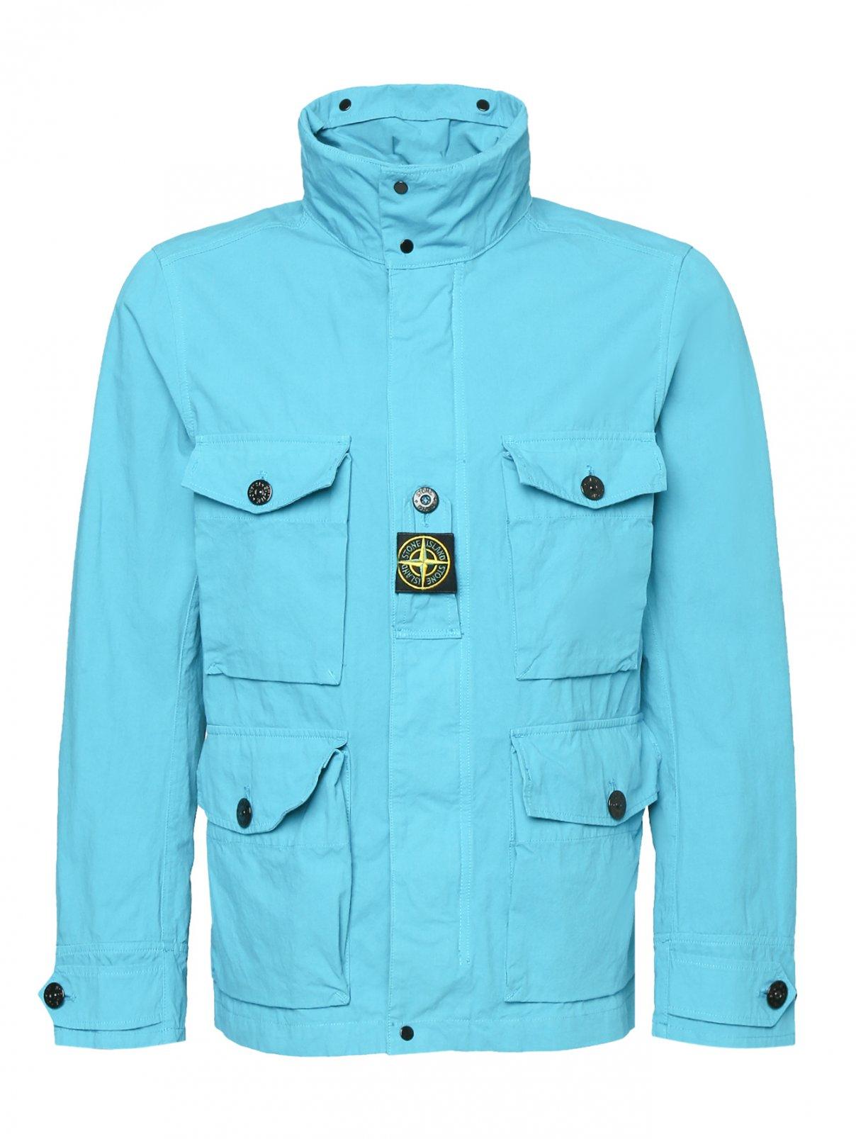 Куртка с накладными карманами Stone Island  –  Общий вид