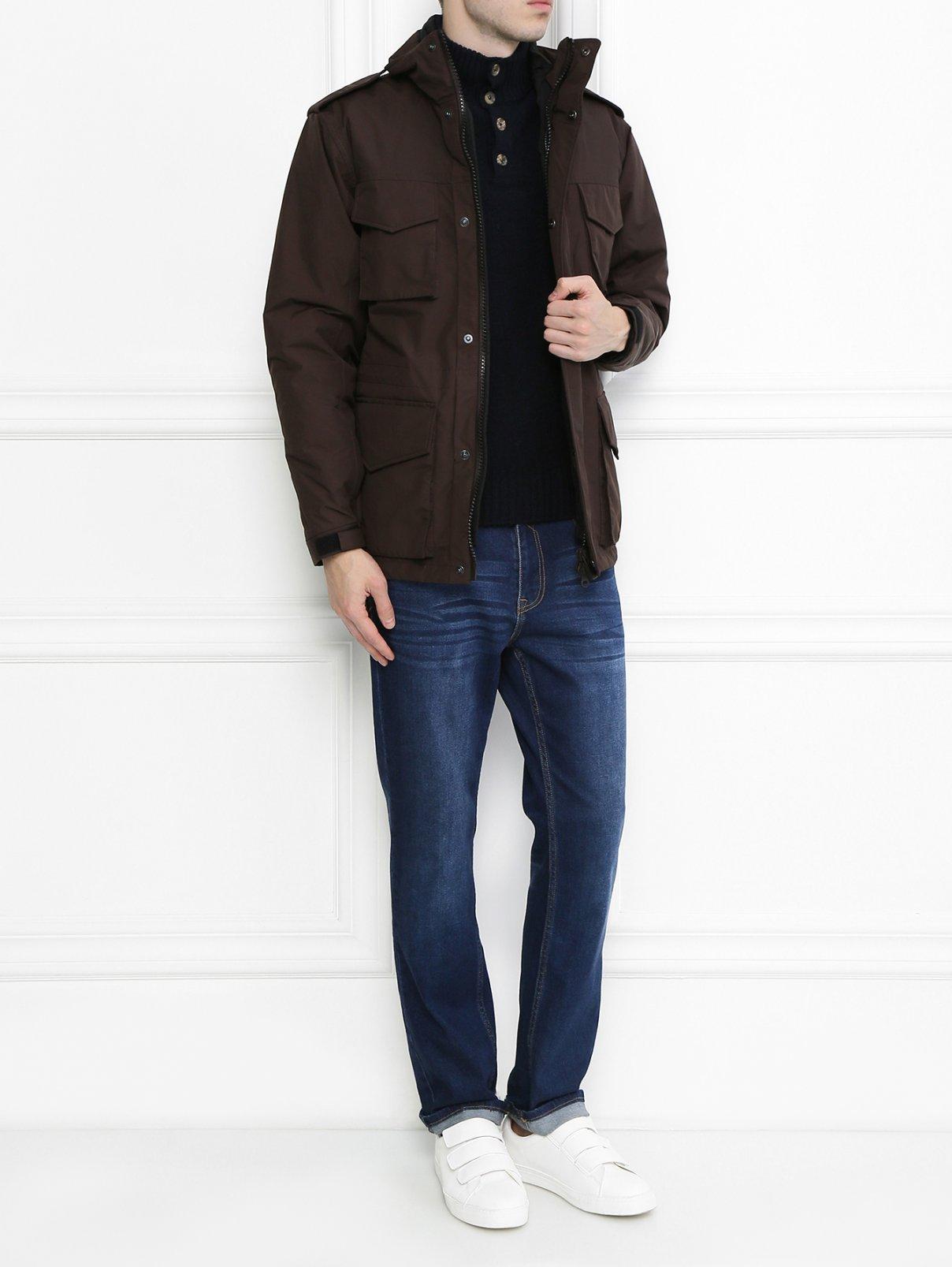 Куртка с накладными карманами Aspesi  –  Модель Общий вид