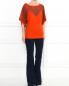 Хлопковые брюки-клеш J Brand  –  Модель Общий вид