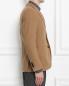 Пиджак однобортный из верблюжьей шерсти LARDINI  –  МодельВерхНиз2