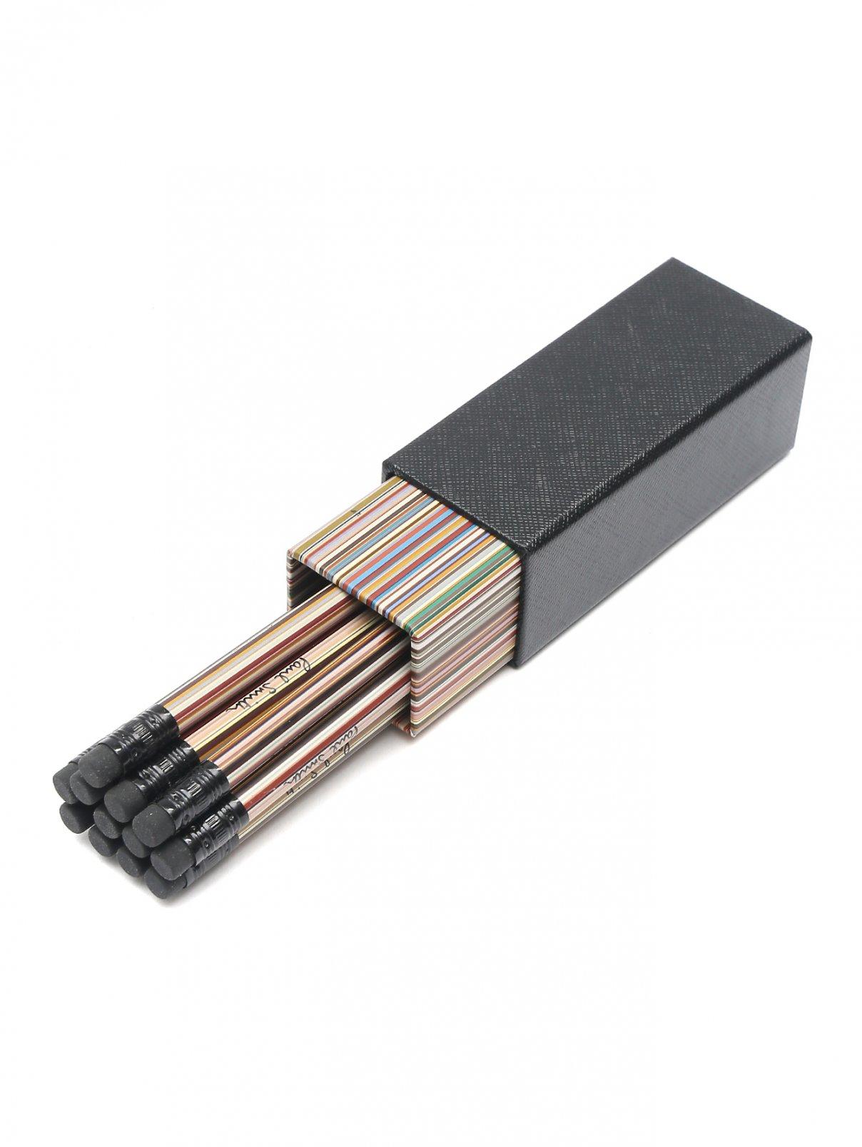 Набор карандашей с узором полоска Paul Smith  –  Общий вид