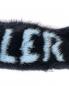 Меховая повязка с узором Moncler  –  Деталь