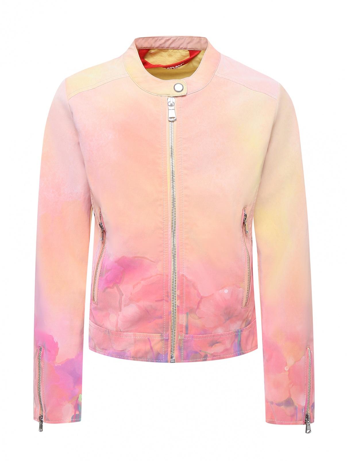 Куртка с узором и карманами Freedomday  –  Общий вид