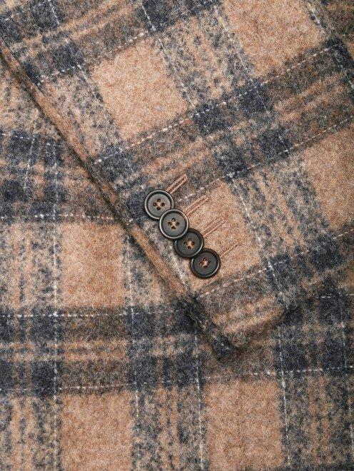 Пиджак из мягкой шерсти - Деталь1