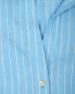Блуза из льна в полоску Brooks Brothers  –  Деталь