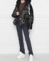 Куртка пуховая с узором пейсли Khrisjoy  –  МодельОбщийВид