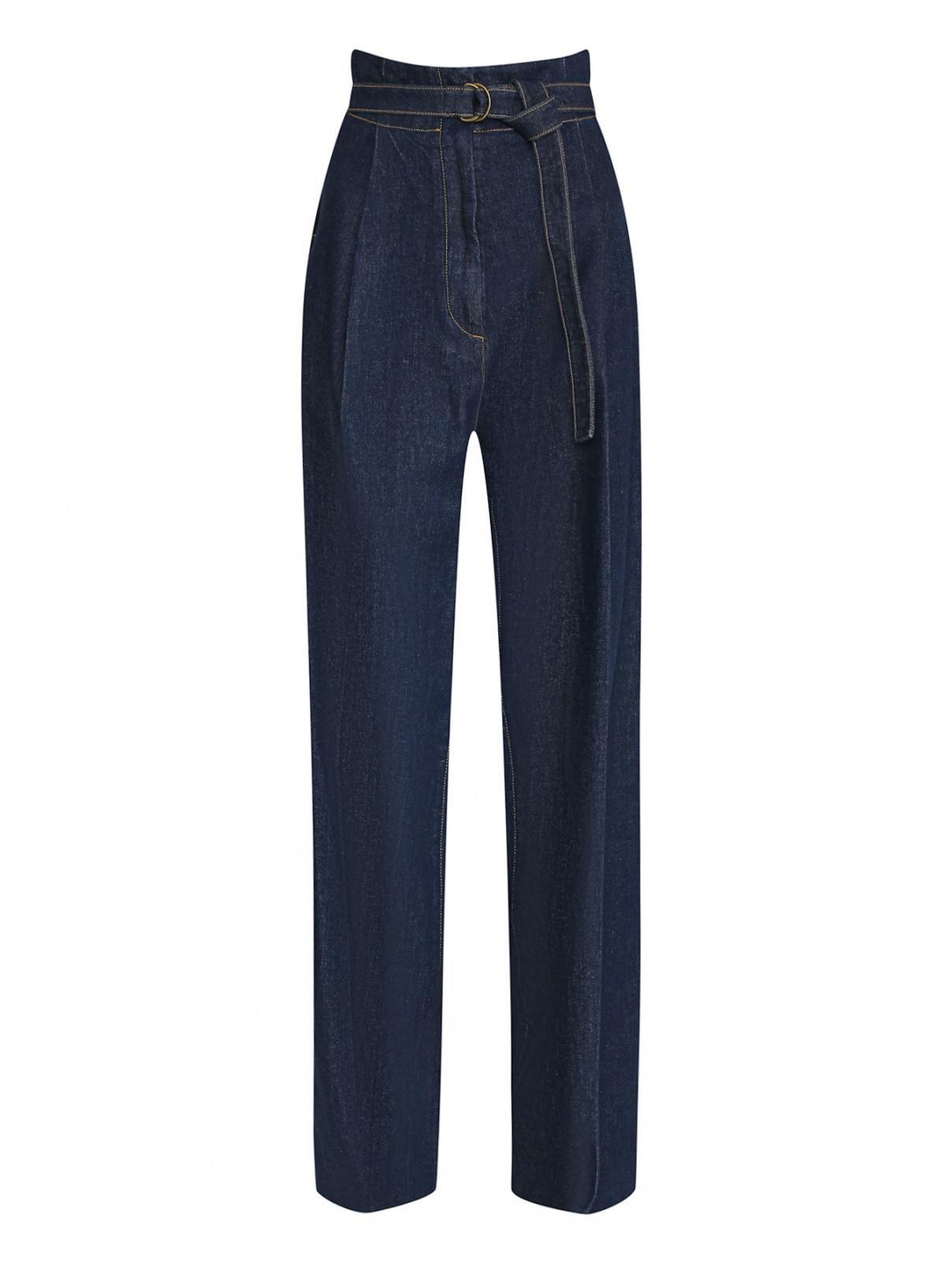 Широкие джинсы из смешанного хлопка Philosophy Di Lorenzo Serafini  –  Общий вид