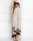 Платье-макси из шелка с узором Etro  –  Модель Верх-Низ
