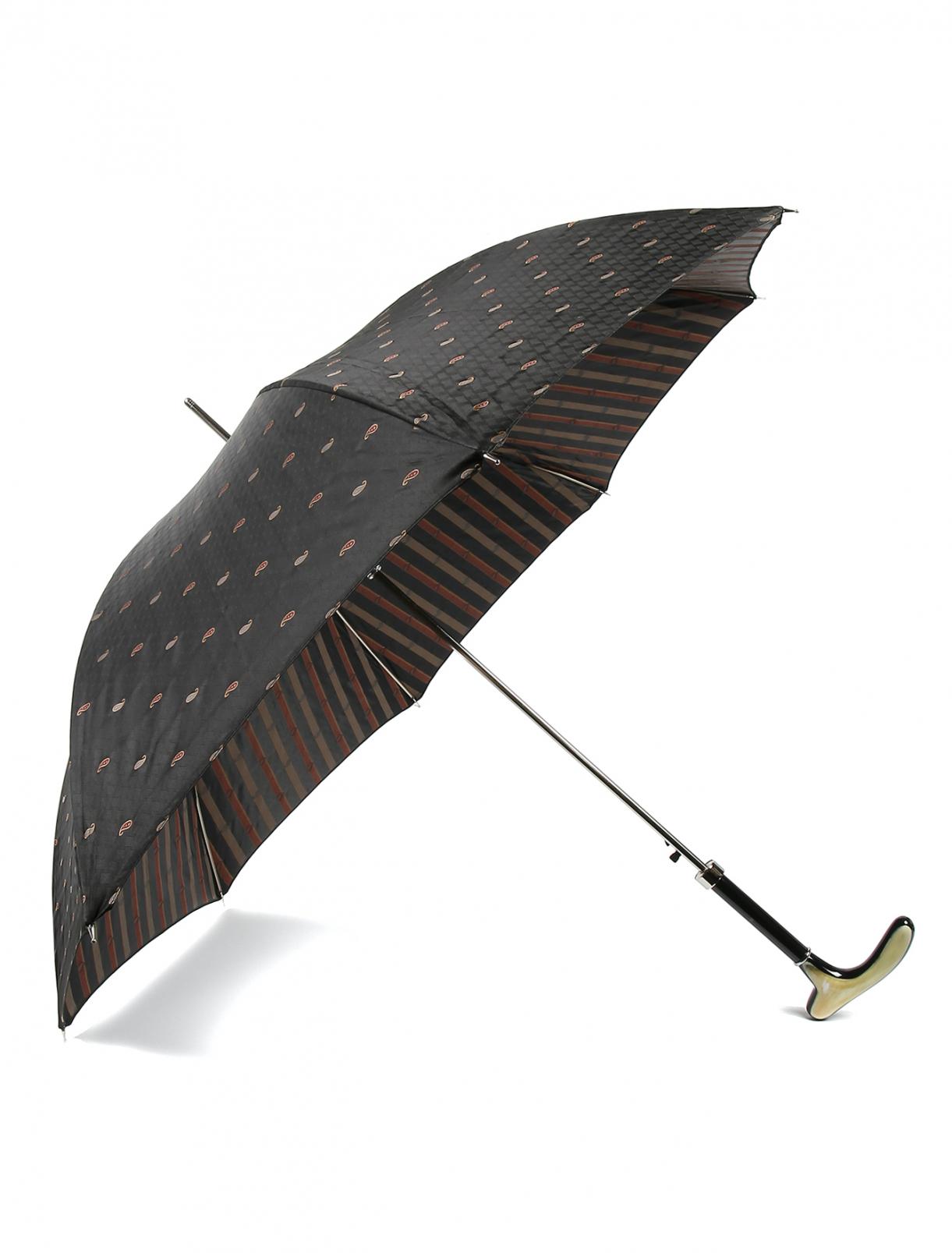 Зонт-трость с узором Pasotti  –  Общий вид