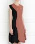 Шерстяное платье с запахом Sportmax  –  Модель Верх-Низ