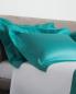Наволочка с фактурной окантовкой и растительным узором 51 x 71 Frette  –  Общий вид