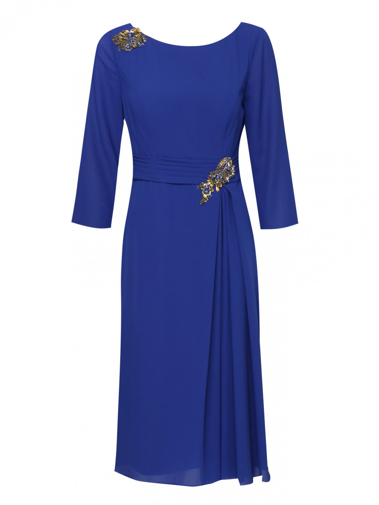 Платье миди, декорированное бисером Rosa Clara  –  Общий вид