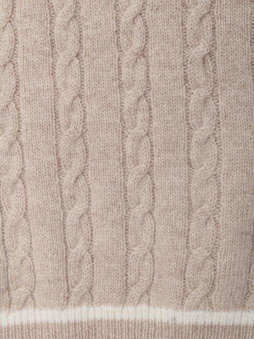 Костюм из кашемира фактурной вязки Tomax - Деталь1