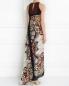 Платье-макси из шелка с узором Etro  –  Модель Верх-Низ1
