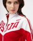Толстовка из хлопка на молнии с вышивкой Bosco Sport  –  Деталь