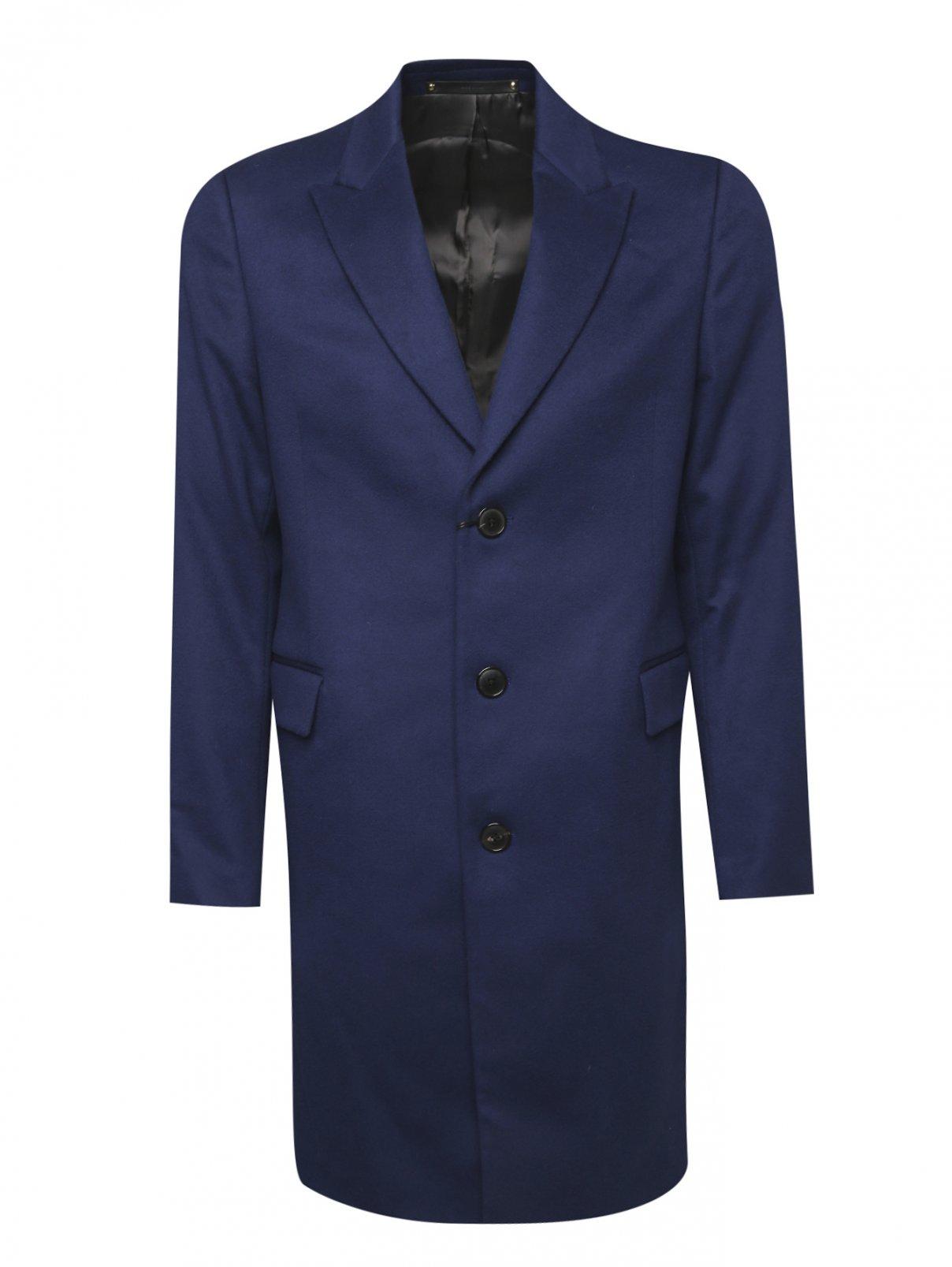 Пальто однобортное из шерсти Paul Smith  –  Общий вид