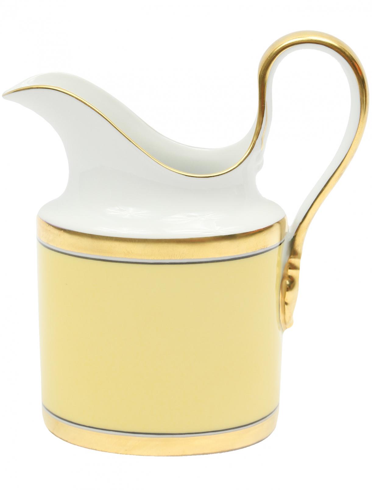 Молочник с золотой окантовкой Richard Ginori 1735  –  Общий вид