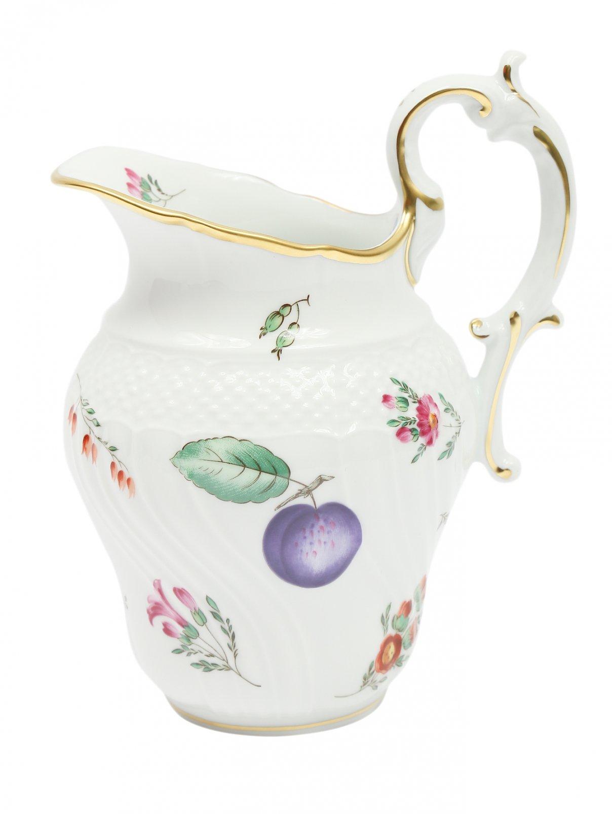 Молочник с узором и рельефной окантовкой Richard Ginori 1735  –  Общий вид