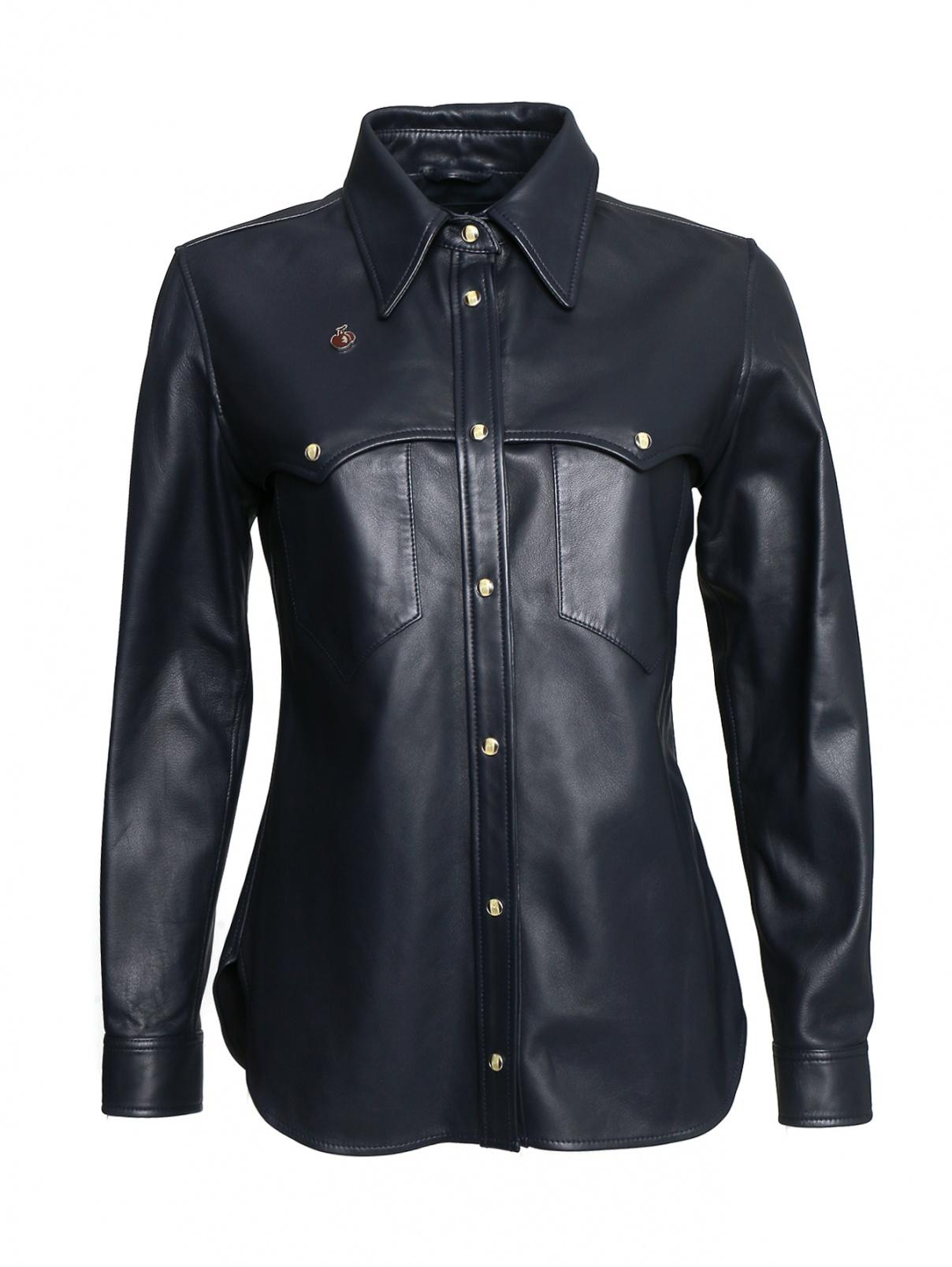 Рубашка из кожи с карманами Bosco Fresh  –  Общий вид